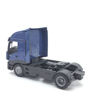 Image 4 - 1:43 sacle alloy iveco Transport vehicles,high simulation iveco Heavy Duty Trailer,Collecting alloy car models,free shipping