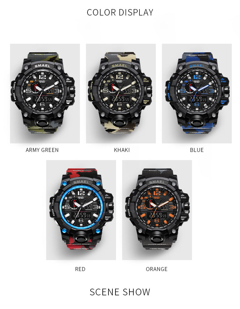 10 sport watches led