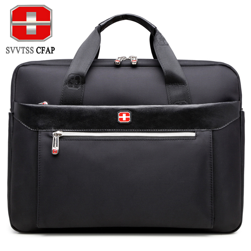 SVVTSSCFAP men handbag business shoulder bag men briefcase messenger bag women nylon men's bags 15 inch laptop High quality