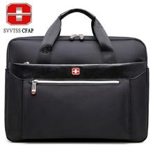 SVVTSSCFAP männer handtasche männer aktentasche umhängetasche frauen nylon männer taschen 15 zoll laptop Hohe qualität