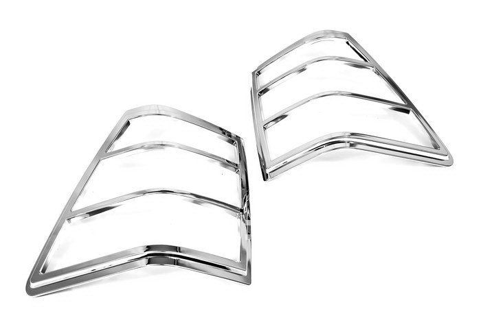 high quality chrome tail light cover for jeep grand