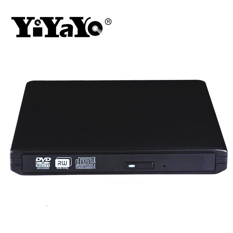 YiYaYo USB 3.0 DVD RW kirjutaja Väline CD / -ROM optiline draiv CD - Arvuti komponendid - Foto 6