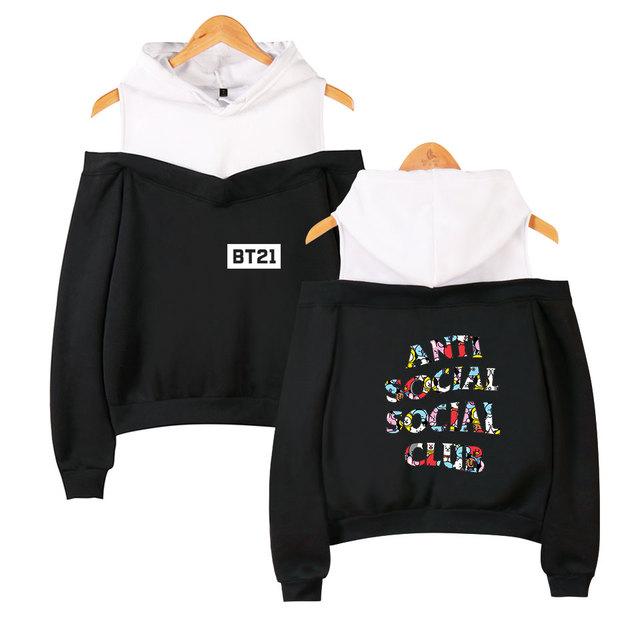 BTS BT21 ANTI SOCIAL CLUB (4 VARIAN)