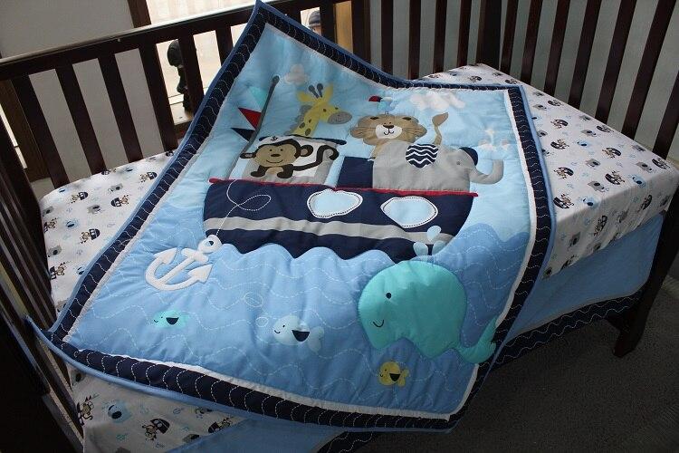 1 шт., Хлопковое одеяло для детской кроватки, 33*42, для мальчиков и девочек, Универсальное Детское одеяло с мультяшным принтом, детское одеяло, одеяла для кроватки, детские вещи для новорожденных - Цвет: comforter only22