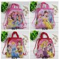 4Pcs Three Princess Winx Club Children School Bags Cartoon Drawstring Backpack Shopping Bag Party Printing Backpack Mochila Gift