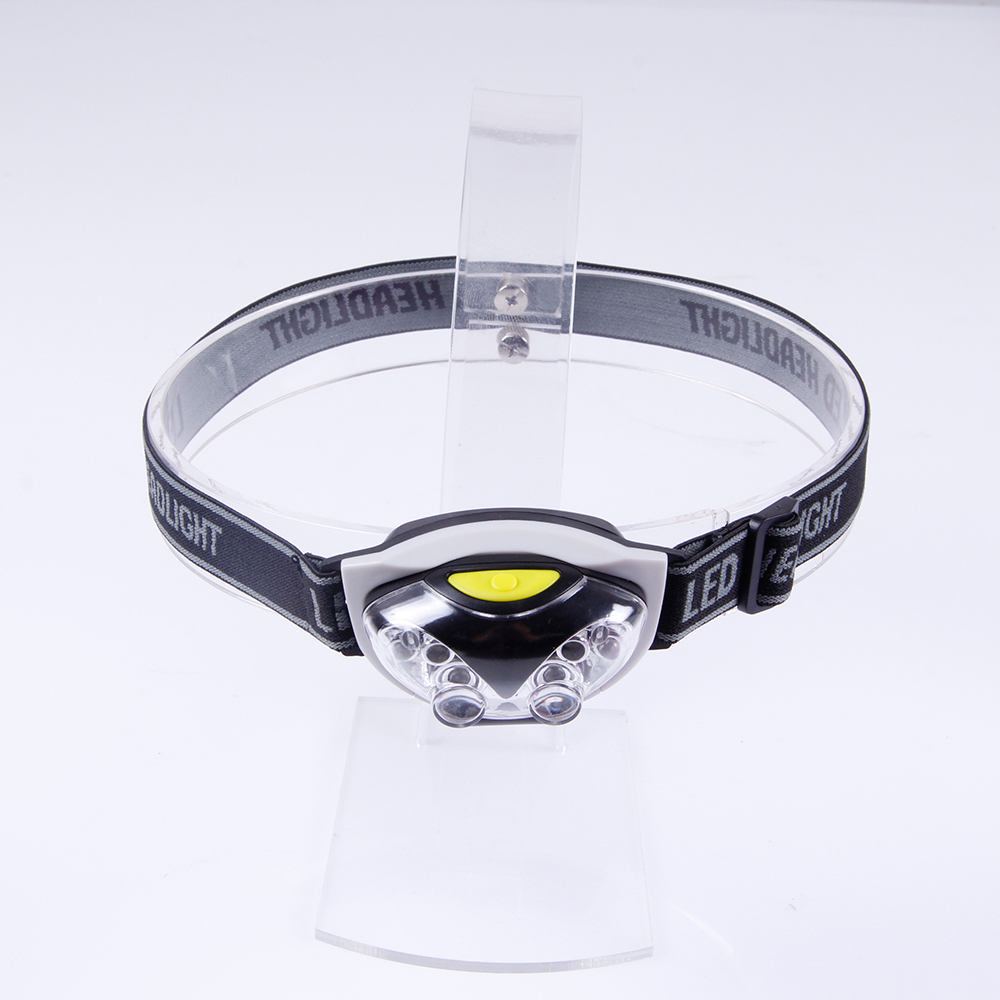 Durable Cat-eye design LED Headlamp with Headband Frontview