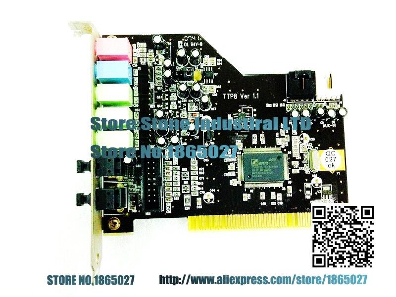 ФОТО AUREON5.1 PCI 5.1 sound card 5.1FUN TTP8 entertainment 100% test