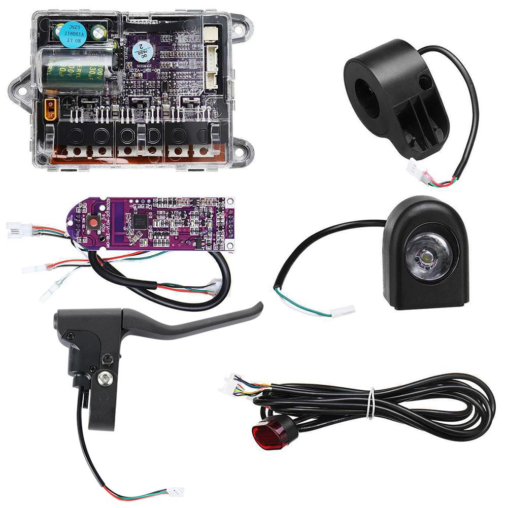 M365 Electric Scooter Accessories 36v Battery Main Control Board Controller Motherboard Instrument Circuit Board 6 Piece Set