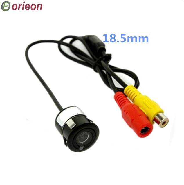 Free shipping Promotion 1pc/lot Waterproof Night Vision Car Rear view Camera for Car Reversing System with Drill (RC800)