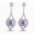 Projeto 2015New Luxo Casamento Jóias Coração Vintage Micro Inlay AAA + Brincos Cubic Zirconia para Mulheres