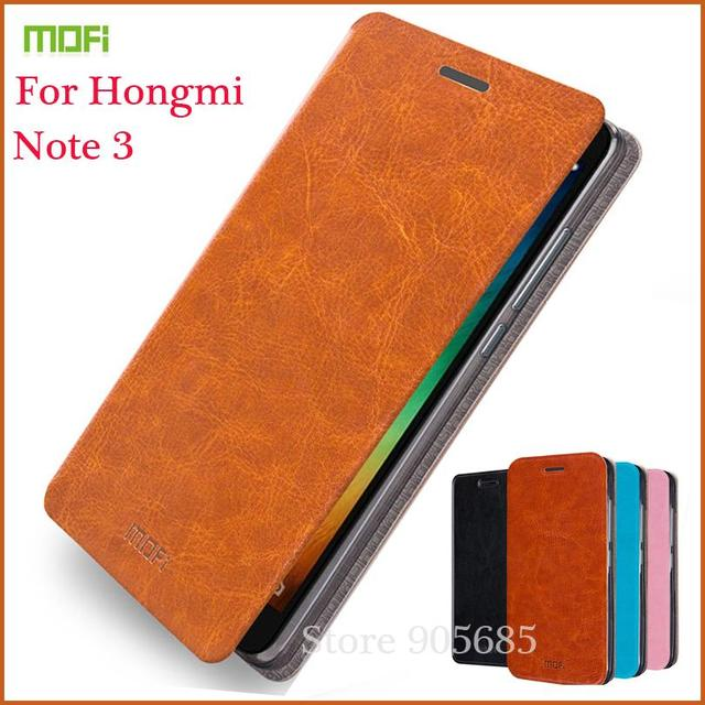 the latest 1cf06 f9ee9 US $8.1 10% OFF|MOFi For Redmi Note 3 Case Flip Pu Leather Stand Book Cover  For Redmi Note 3 Phone Cases-in Flip Cases from Cellphones & ...