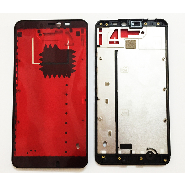 5.7 Inch LCD Holder Screen Front Frame For Nokia Microsoft Lumia 640 XL Front Housing Case Replacement Parts