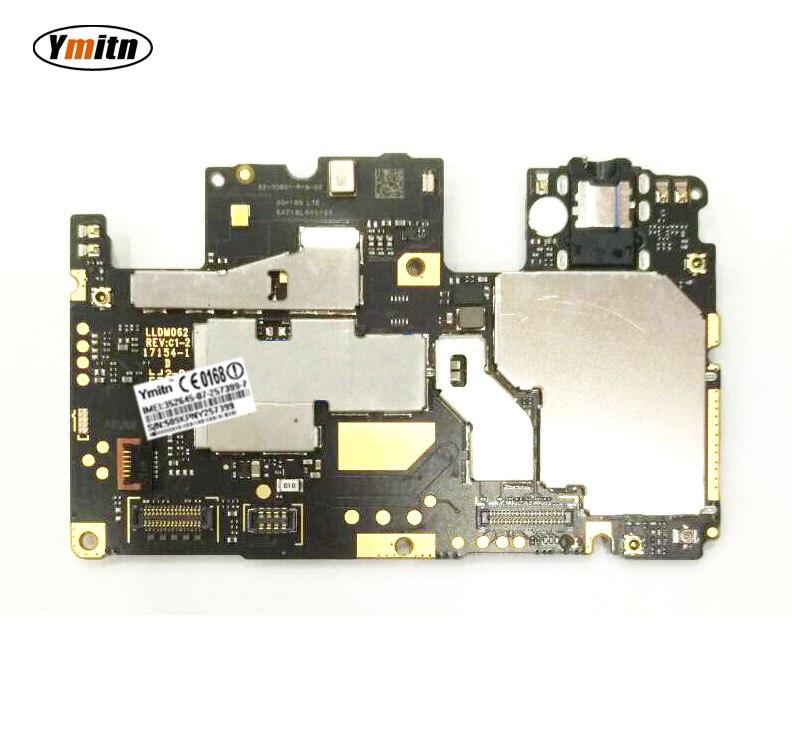 Ymitn Mobile panneau Électronique carte mère Carte Mère débloquée avec puces Circuits Pour Xiaomi RedMi hongmi Note 5A