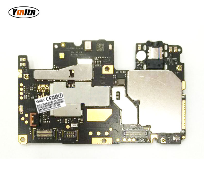 Ymitn Mobile pannello Elettronico mainboard della Scheda Madre sbloccato con chip di Circuiti Per Xiaomi RedMi hongmi Nota 5A