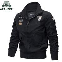 Military Jacket Men Autumn Winter Bomber Jacket Plus Size 4XL Cotton Pilot Tactical Air Force Cargo Jackets Jaqueta masculina