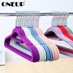 ONEUP 5pcs Stainless Steel Clothes Baby Hangers Portable Interior Drying Rack No Slip Space Saving Metal Hangers For Trouser Bra