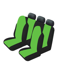 Universal Car Seat Cover Set 7Pcs Front/Back Headrest Protector Auto Accessories Ventilation and dust