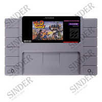 Wild Guns 16 bit Super Game Card For USA NTSC Game Player