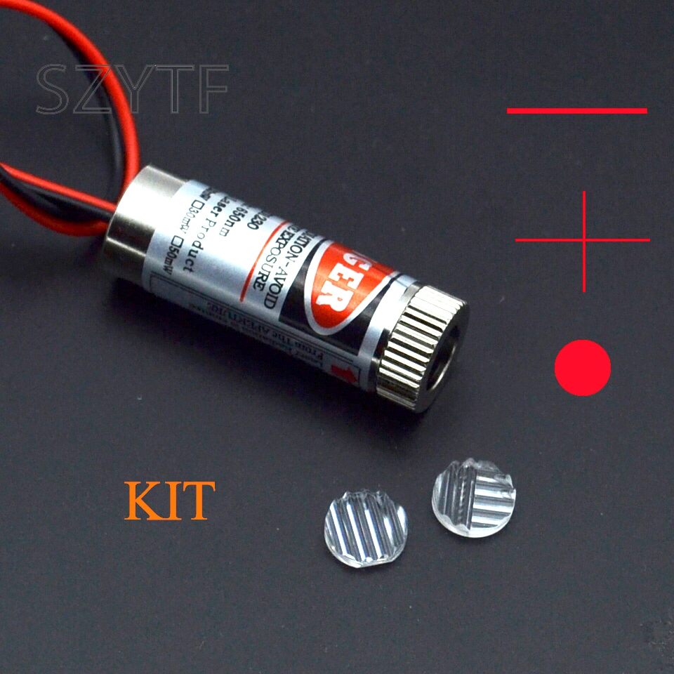 5MW Red Cross Line Laser Industrial Laser Modules