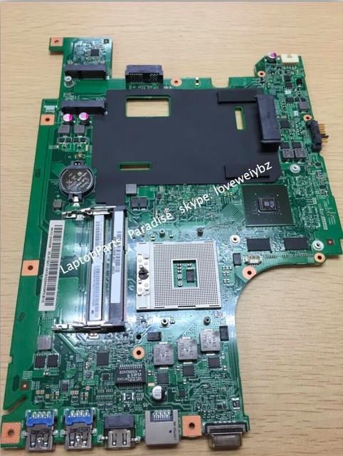 Frete grátis 48.4te05.011 para lenovo b590 motherboard notebook com placa gráfica nvidia