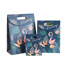 Flamingo paper Cookies chocolate Candy box Gift Bag outdoor Wedding birthday bridal baby shower Gender Reveal Decoration package