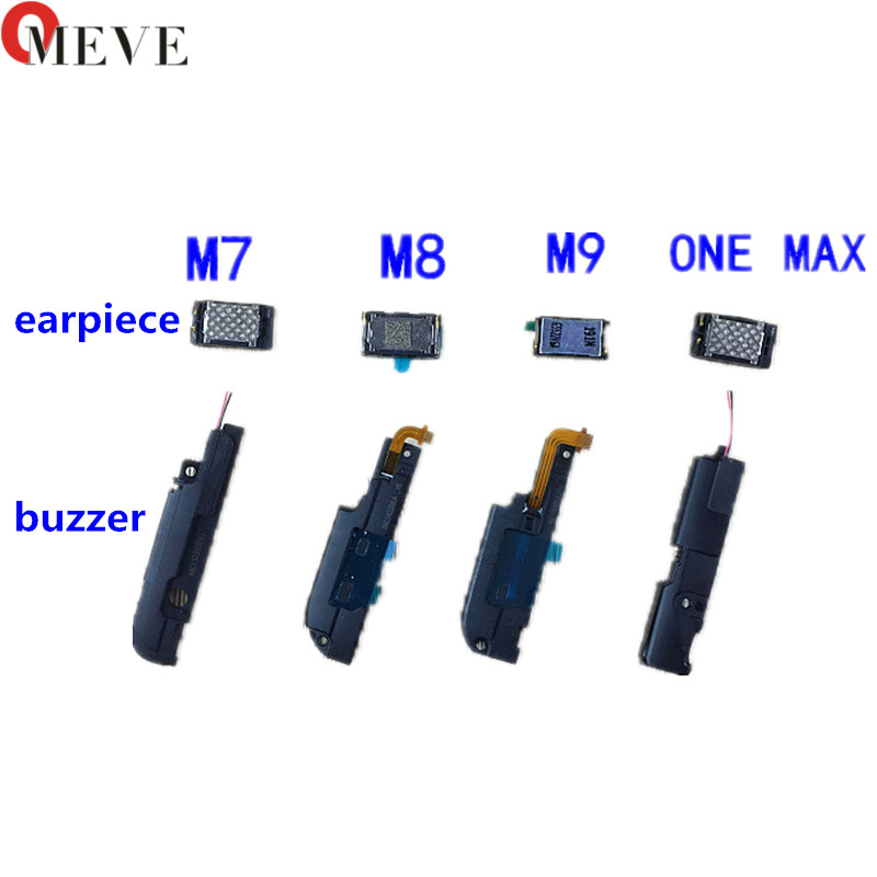 For HTC ONE M7 M8 M9 M10 A9 ONE MAX E8 E9 M9 PLUS Built-in Earpiece Ear Speaker Loud Speaker Buzzer Ringer Replacement Parts