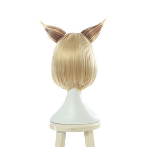 Image 2 - L email wig Game LOL KDA Ahri Cosplay Wigs K/DA Prestige Edition Short Mixed Color Cosplay Wig Heat Resistant Synthetic Hair