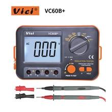 VICI VC60B вольтметр мегаомметр мегометр мегаометр мультиметр мегоометр изоляции мегомметром тестер Мегаомметр ом тестер insInsulation тестер сопротивления мегомметром