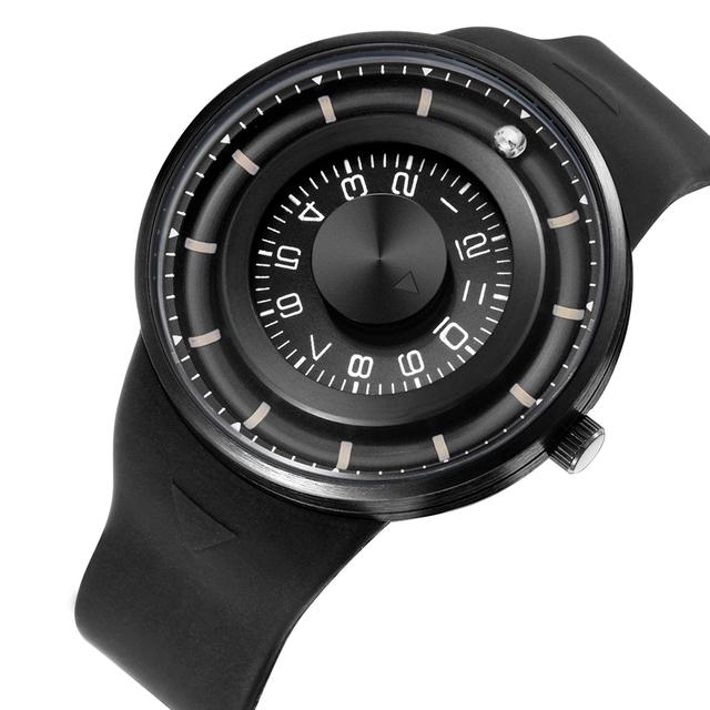 Quartz Rotating Dial Wristwatches
