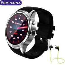 Femperna X200 Reloj Inteligente Android 5.1 MTK6580 1.3G Quad Core Soporte de Monitor de Frecuencia Cardiaca Precisa GPS SIM HD Camea Smartwatch