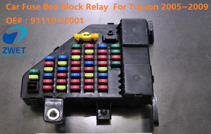 Zwet Car Fuse Box Block Relay For Tucson Junction Fusebox Rhaliexpress: Car Fuse Box Replacement At Gmaili.net