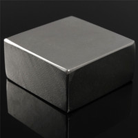 1PC 50 X 50 X 25mm N52 Neodymium Block Permanent Rare Earth Magnet Super Strong Square