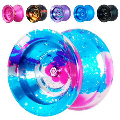 Magie yoyo jouet Professionnel métal yo-yo Y01 noeud Jouet Haute vitesse 10 Roulements À Billes Spécial yo yo Cadeau Jouets Pour enfants