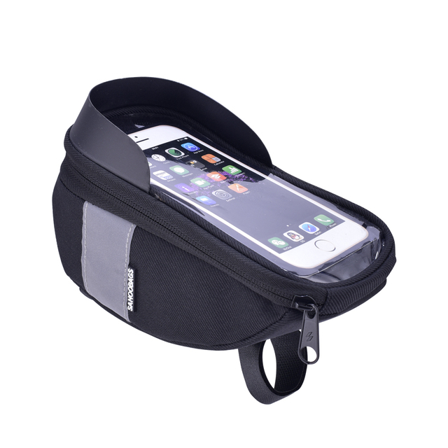 Front Frame Bike Bag for Mobile Phone and Cycling Gears