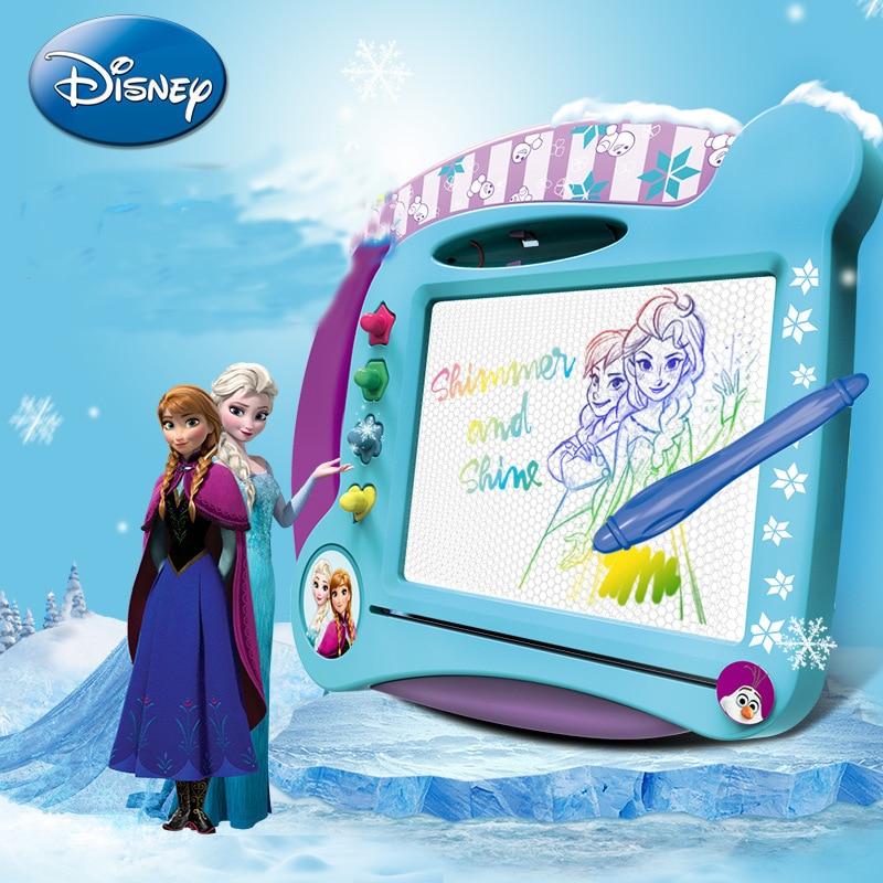 Disney educational toys Frozen magnetic drawing board ...