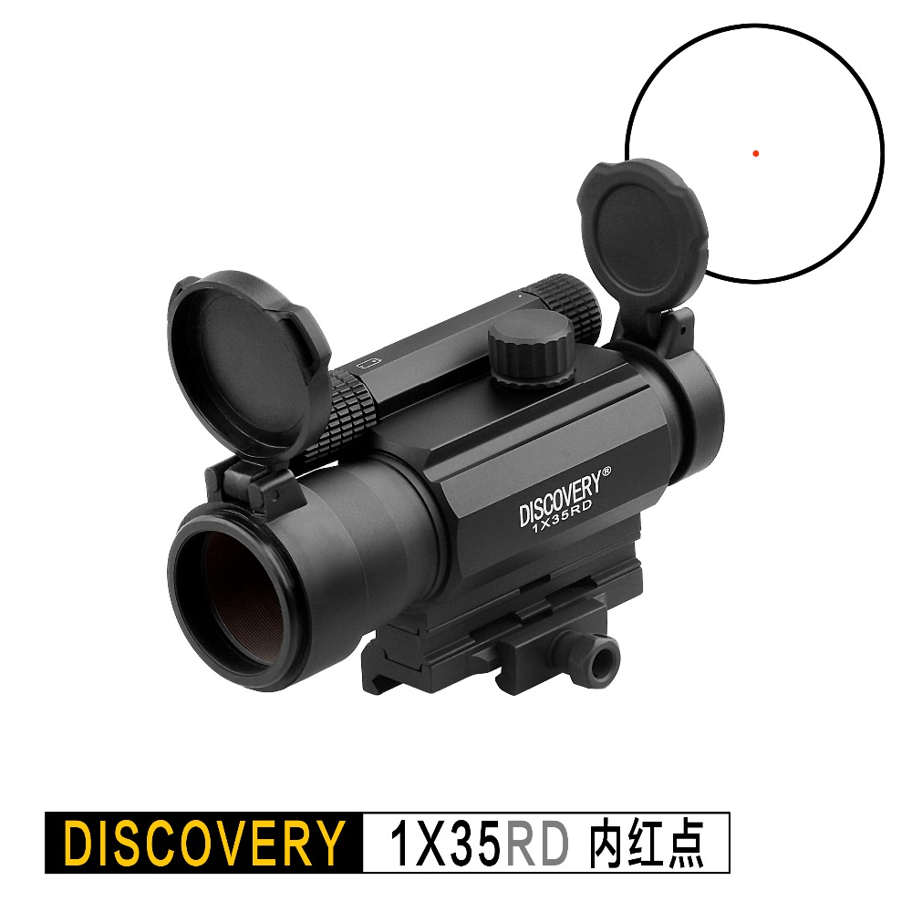 Discovery RDL 1X35 RD red dot holographic optical sight Tactical Hunting rifle scope collimator For Airsoft Rifles Fit 20mm Rail
