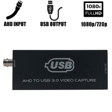 AHD naar USB 3.0 Video Capture Card Full HD UVC Afspelen Kaart voor Live Streaming Ondersteuning vMix OBS Studio iSpy etc.