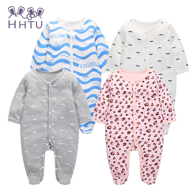 HHTU 2016 Baby Clothing New Newborn Baby Boy Gril Romper Clothes Long Sleeve Infant Product Fashion Autumn Lovely