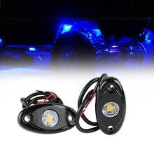 2 pcs 9 w 증기선 갑판 조명 보트 장식 자동차 보트에 대 한 다채로운 램프 지프 오프로드 오토바이