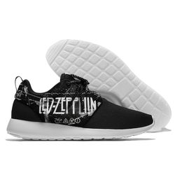 Men Running Shoes Outdoor Athletic Lace Up Men Sport Shoes High Quality Cushioning Breathable Jogging led zeppelin Sneaker