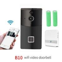 Timbre de seguridad WiFi inteligente B10 con grabación Visual bajo consumo de energía control remoto del hogar IP Video puerta teléfono