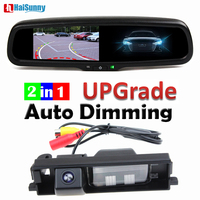 Car Parking Camera Dynamic Line With 4.3 Inch Auto Dimming Mirror Monitor For Toyota RAV4 RAV 4 2006 2008 2009 2010 2011 2012