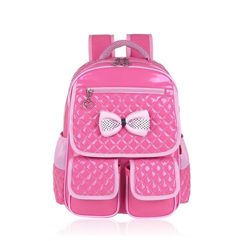 cute schoolbags school backpacks beautiful orthopedic school bags for girls Korean style student bag girl pink leather backpack