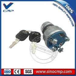 SINOCMP 320C do koparek 9G 7641 9G7641 wyłącznik zapłonu z 2 kluczami  4 linie|excavator|excavator keys  -