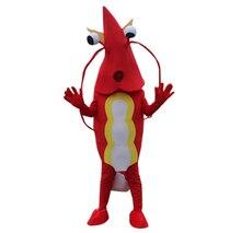 Креветки талисмана Lobster Langouste раки мультфильм Платье для косплея Хэллоуин Необычные Вечерние характер