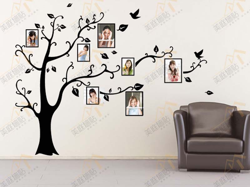 Family Tree Frames For Wall aliexpress : buy wall sticker tree frame wall stickers
