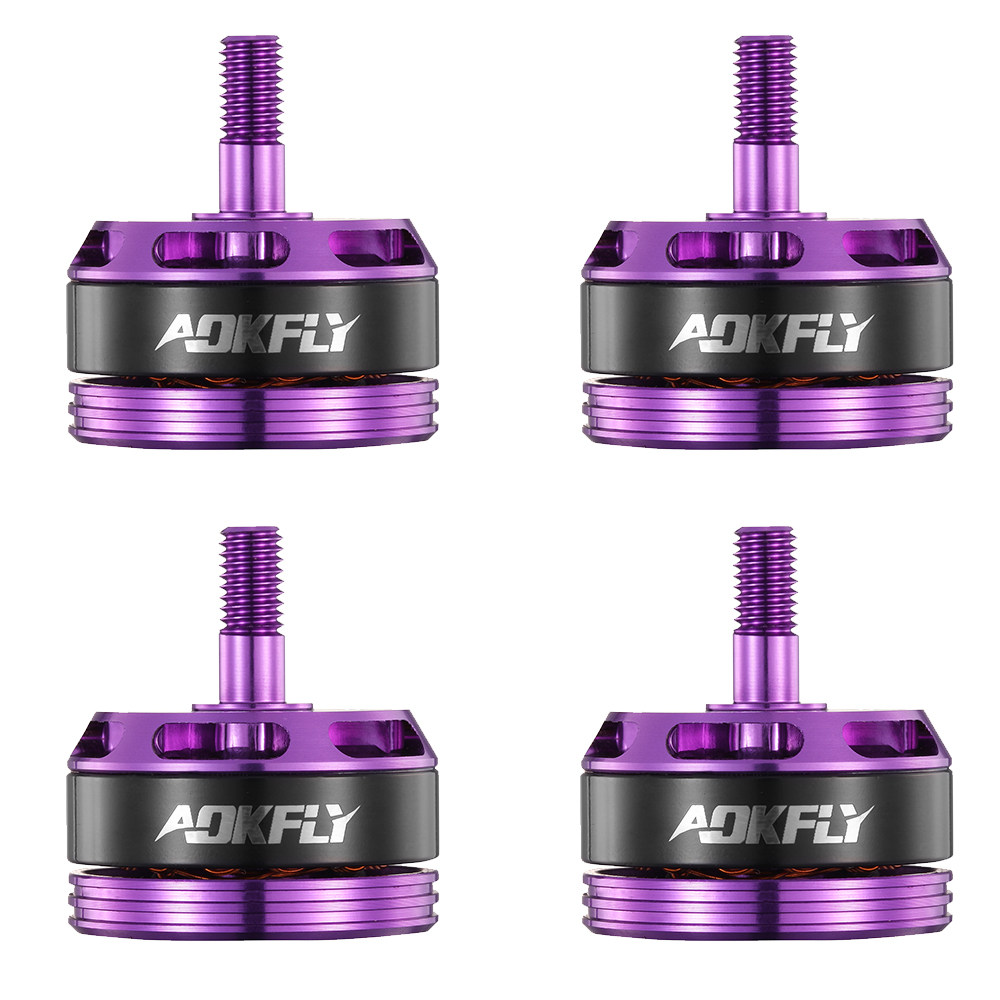 2205 Brushless Motor rc Motor Drone Motor AOKFLY DR 2300KV/2500KV Red/Purple for FPV Quadcopter RC Model Toys 4pcs image