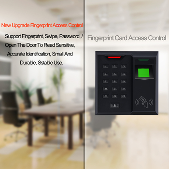 Eseye Fingerprint Access Control System Proximity Card Reader Security Door Bell For Door Access Controller Machine zkteco bluetooth fingerprint access control 13 56mhz card reader silkid sensor zkbiobt application controller