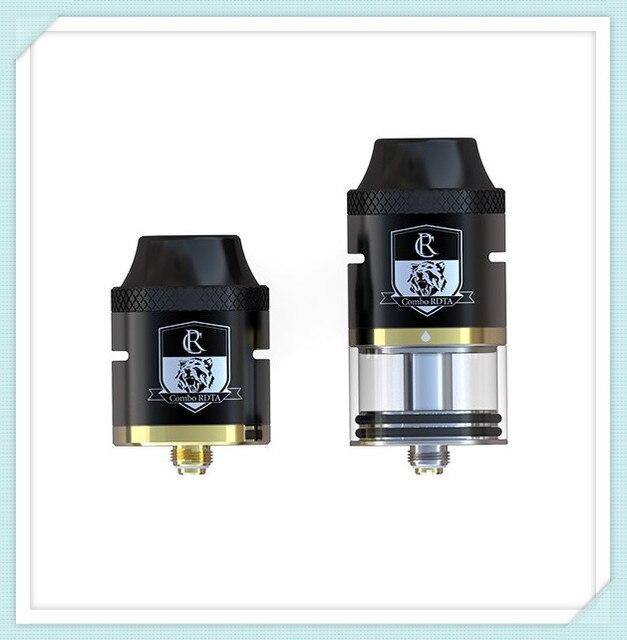 Оригинал ijoy combo rdta бак огромный пара электронная сигарета распылитель 25 мм диаметр 6.5 мл электронной жидкости емкость предварительно производства катушки