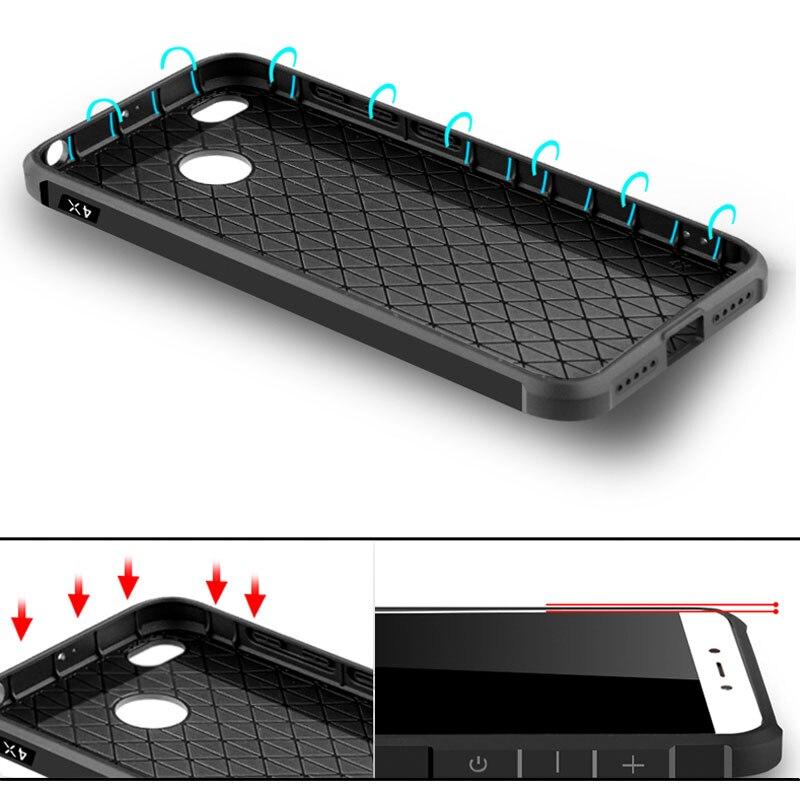 Para Xiaomi Redmi 4X Funda de teléfono de lujo Funda de silicona - Accesorios y repuestos para celulares - foto 4
